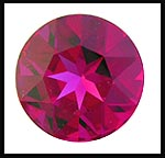 Swarovski Elements Stone - 27mm Fuchsia