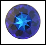 Swarovski Elements Stone - 27mm Heliotrope