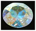 Swarovski Elements Stone - 27mm Crystal AB
