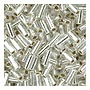 size 1 Bugle Bead - Crystal S/L