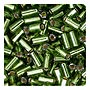 size 1 Bugle Bead - Olive S/L