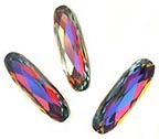 Swarovski Crystal #4161 - 27x9mm Oblong - Volcano