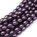 6x4mm Glass Rice Pearl