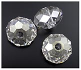Swarovski Briolette Bead - #5041 - 18mm (large-hole)