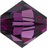 SWAROVSKI ELEMENTS Bicone - 4mm Amethyst