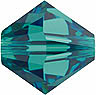 SWAROVSKI ELEMENTS Bicone - 4mm Blue Zircon