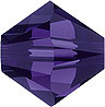 SWAROVSKI ELEMENTS Bicone - 4mm Purple Velvet