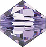 Swarovski Elements Bicone - 6mm Violet