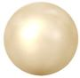 Swarovski Crystal Pearl - 5mm Light Gold