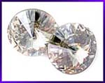 Swarovski Elements Rivoli - 16mm Crystal Moonlight