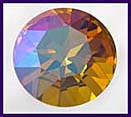 Swarovski Elements Stone - 27mm Chrysolite Brandy