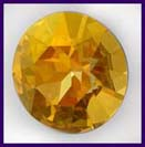 Swarovski Elements Stone - 27mm Crystal Brandy