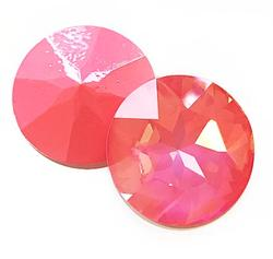 Swarovski Elements Stone - 27mm Ultra Pink Coral AB