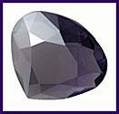 SWAROVSKI ELEMENTS Triangle Stone - 20mm Tanzanite Satin