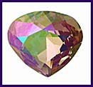 SWAROVSKI ELEMENTS Triangle Stone - 20mm Purple Haze