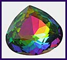 SWAROVSKI ELEMENTS Triangle Stone - 20mm Medium Vitrail