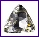 SWAROVSKI ELEMENTS Triangle Stone - 23mm Crystal