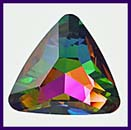 SWAROVSKI ELEMENTS Triangle Stone - 23mm Medium Vitrail