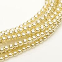 2mm Czech Glass Pearls - Old Lace Pearl