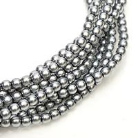 2mm Czech Glass Pearls - Grey Pearl