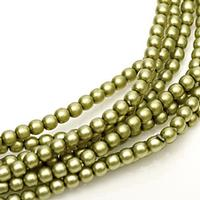 2mm Czech Glass Pearls - Spring Bud Satin Matte Pearl