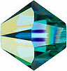 Swarovski Elements Bicone - 6mm Blue Zircon AB