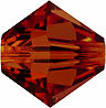 SWAROVSKI ELEMENTS Bicone - 4mm Crystal Red Magma