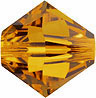 Swarovski Elements Bicone - 6mm Topaz