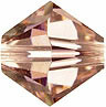 Swarovski Elements Bicone - 6mm Vintage Rose