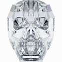 Swarovski Skull Bead - 13mm Crystal