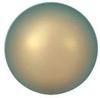 Swarovski Crystal Pearl - 8mm Iridescent Green