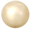 Swarovski Crystal Pearl - 8mm Light Gold