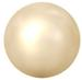 Swarovski Crystal Pearl - 4mm Light Gold