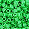 Toho 1.5mm Cube - Bright Green Opaque