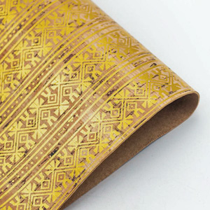 Cork Fabric - Egyptian Gold