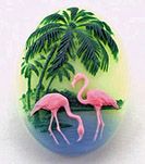 25/18mm Flamingo Cameo