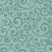 Patterned Ultrasuede - Vines - Montauk
