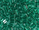 3mm Cube - Green Teal Transparent